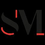 Logo Associazione spazio musica Una S e una M stilizzate